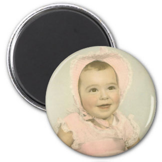 Personalized Baby Photo Magnet