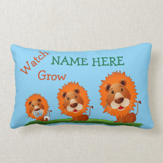 Personalized Baby Pillows with Name and Monogram Throw Cushions
