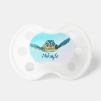 Personalized Baby Sea Turtle Dummy