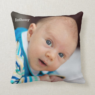 Personalized Baby Throw Pillows Add Photo And Name
