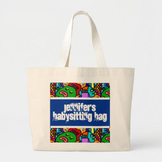 Personalized Babysitter's Goody Bag