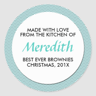 Personalized Baking, Jam, Canning or Product Round Sticker