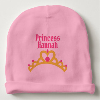 Personalized Ballerina Princess Baby Beanie