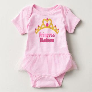 Personalized Ballerina Princess Baby Bodysuit