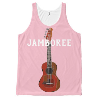 Personalized Band Guitar all over tank