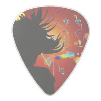 Personalized Band Photo Promo Acetal Guitar Pick