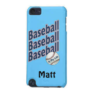 Personalized - Baseball iPod Touch (5th Generation) Case