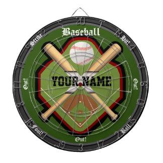 Personalized Baseball Field Dartboard