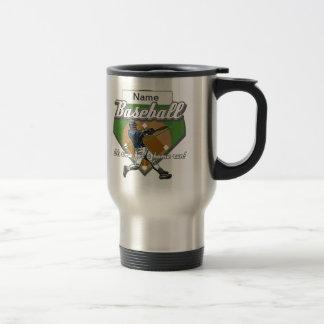 Personalized Baseball Home Run Mugs