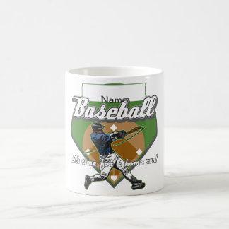 Personalized Baseball Home Run Coffee Mugs