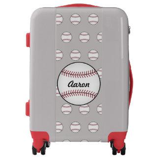 Personalized Baseball Luggage
