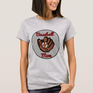 Personalized baseball mom shirt