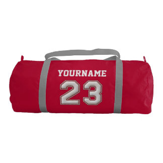 Personalized Baseball Number 23 with Your Name Gym Bag