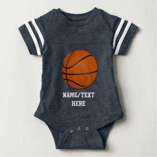 Boys basketball gifts t shirts art posters other gift ideas personalized basketball baby boy baby bodysuit negle Choice Image