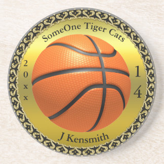 Personalized Basketball Champions League design Coaster