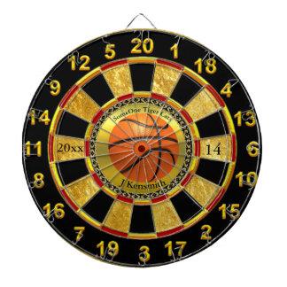 Personalized Basketball Champions League design Dartboard