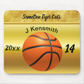 Personalized Basketball Champions League design Mouse Pad