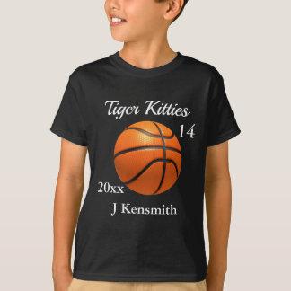 Personalized Basketball Champions League design T-Shirt