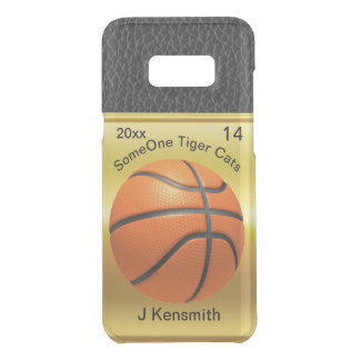 Personalized Basketball Champions League design Uncommon Samsung Galaxy S8 Plus Case