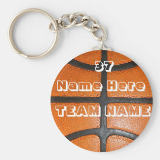 Personalized Basketball Gifts for Boys & Girls Key Ring