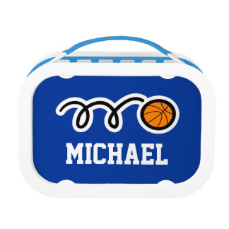 Personalized basketball lunchbox for little kids