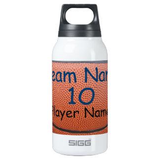 Personalized Basketball Team Water Bottles