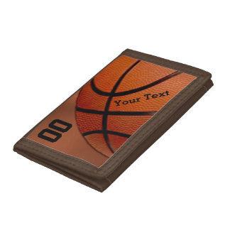 PERSONALIZED Basketball Wallets for Team or Player