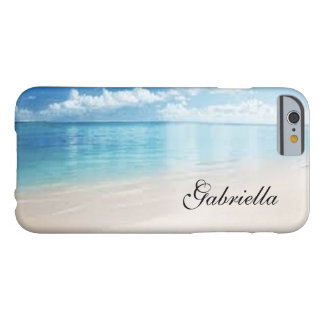 Personalized Beach Scene Phone Case