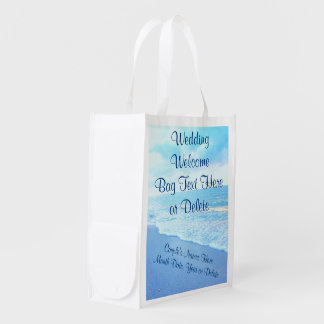 Personalized Beach Wedding Welcome Bags