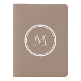 Personalized Beaver Brown High End Colored Extra Large Moleskine Notebook
