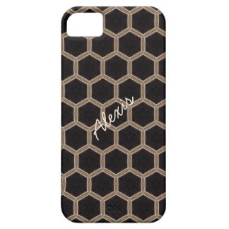 Personalized Beehive Pattern Phone Case iPhone 5 Cases