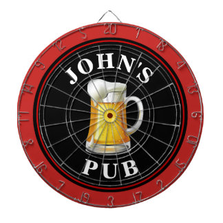 Personalized Beer Pub Dartboards