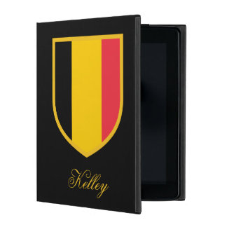 Personalized Belgium Flag Covers For iPad