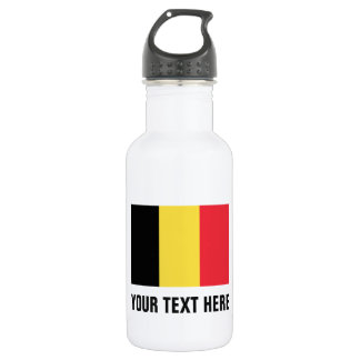 Personalized Belgium flag water bottle for Belgium 532 Ml Water Bottle