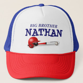 "Personalized ""Big Brother"" Baseball Cap"