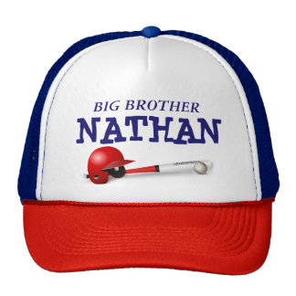 """Personalized """"Big Brother"""" Baseball Cap"""