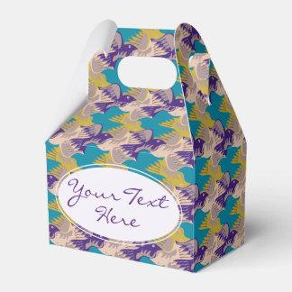 Personalized Birds Pattern Tesselation Favor Box 2 Wedding Favour Box
