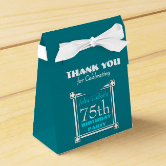 Personalized Birthday Thank You Favor Box