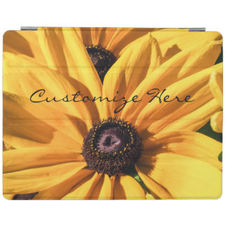 Personalized Black Eyed Susan iPad Cover