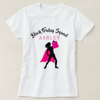 Personalized Black Friday Squad T-Shirt