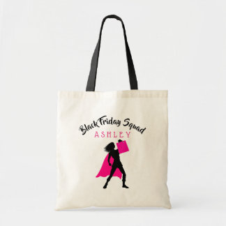 Personalized Black Friday Squad Tote