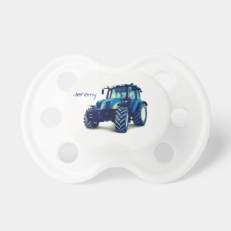 Personalized Blue Farm Tractor Dummy