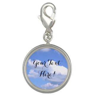 Personalized Blue Sky Clouds Inspirational Nature