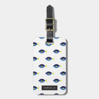 Personalized | Blue Tang Luggage Tag