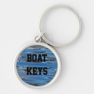 Personalized Boat Keys Water Name Keychain