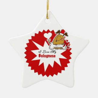 Personalized Bolognese Keepsake Ornament