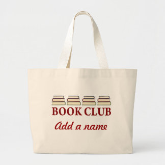 Personalized Book Club Tote Bag Gift