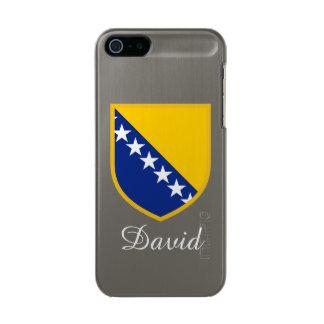 Personalized Bosnia Flag Incipio Feather® Shine iPhone 5 Case