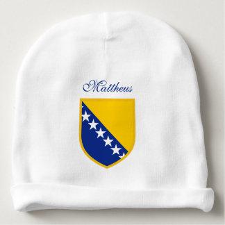 Personalized Bosnia Herzegovina Baby Beanie