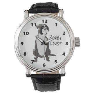Personalized Boxer Design Wrist Watch